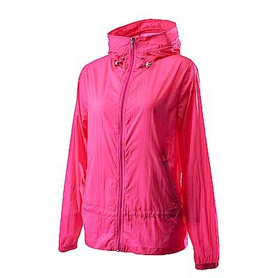Wildland荒野女15D超輕低防水高透氣外套粉紅