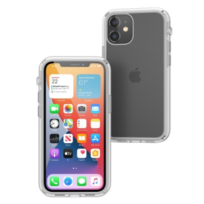 CATALYST iPhone12 mini (5.4吋) 防摔耐衝擊保護殼●磨砂透