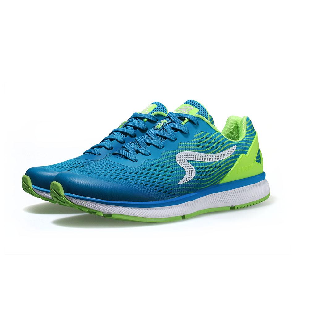 【ZEPRO】女子KIRIN系列減震耐磨運動跑鞋-光速藍