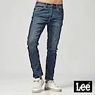 Lee 低腰合身3D牛仔褲-深藍