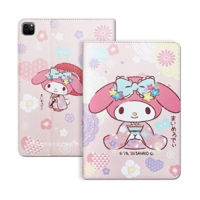 正版授權 My Melody美樂蒂 2020 iPad Pro 12.9吋 和服限定款 平板保護皮套