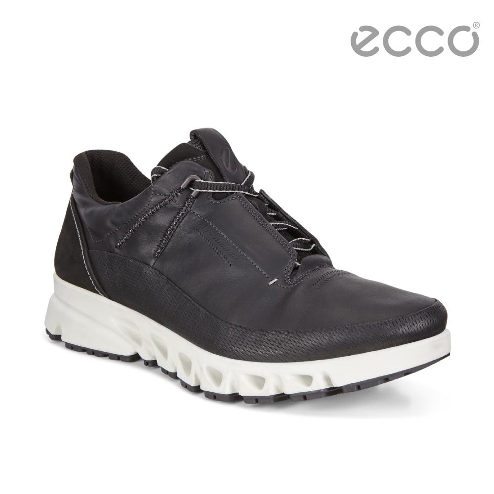 ECCO MULTI-VENT 全方位城市戶外運動休閒鞋 男-黑
