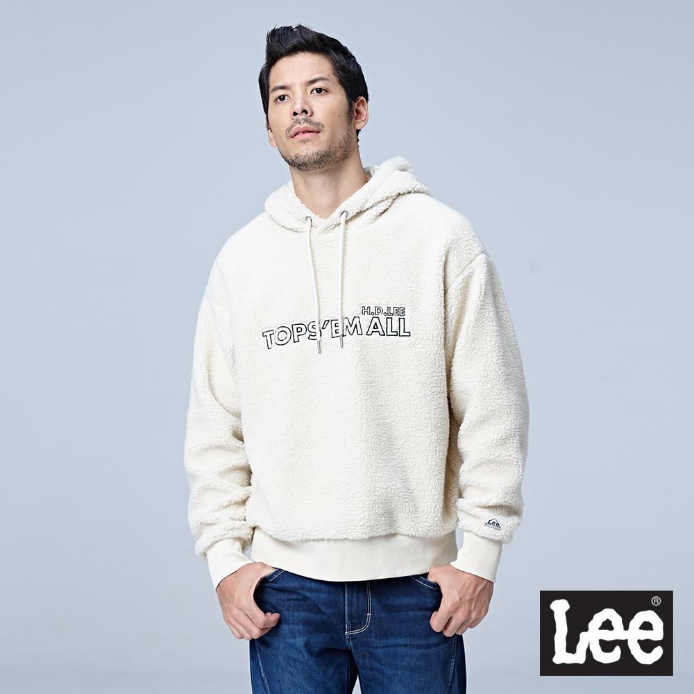 Lee 毛尼長袖連帽厚TEE/RG @ Y!購物