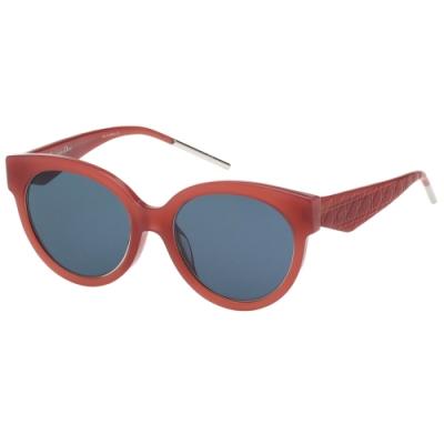 Dior 經典復古 太陽眼鏡(橘紅色)