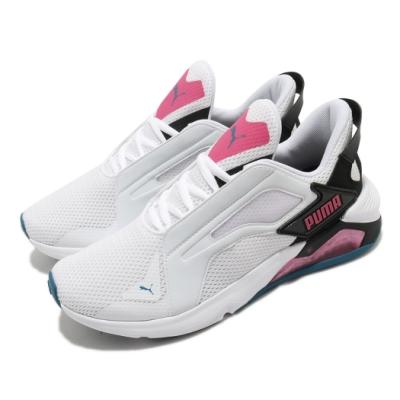 Puma 慢跑鞋 LQDCELL Method 運動 女鞋 輕量 透氣 舒適 避震 路跑 健身 白 粉 19378003