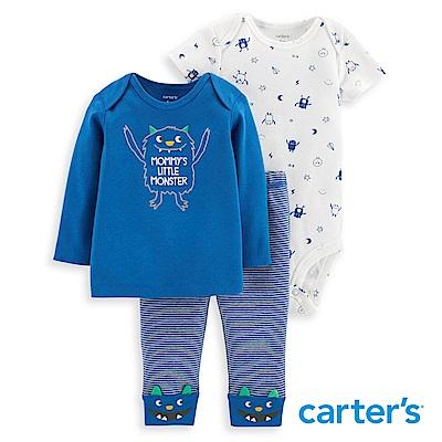 Carter's 俏皮小怪獸3件組套裝
