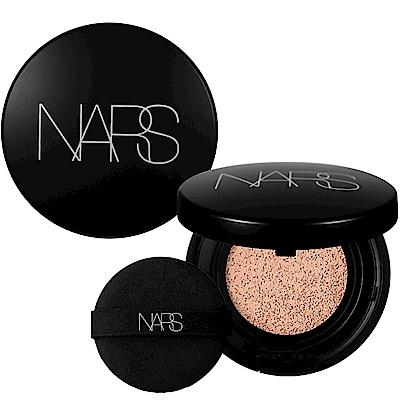 NARS 裸光奇肌氣墊粉餅(蕊)SPF23/PA++(#NAMSAN)(12g)+氣墊粉盒