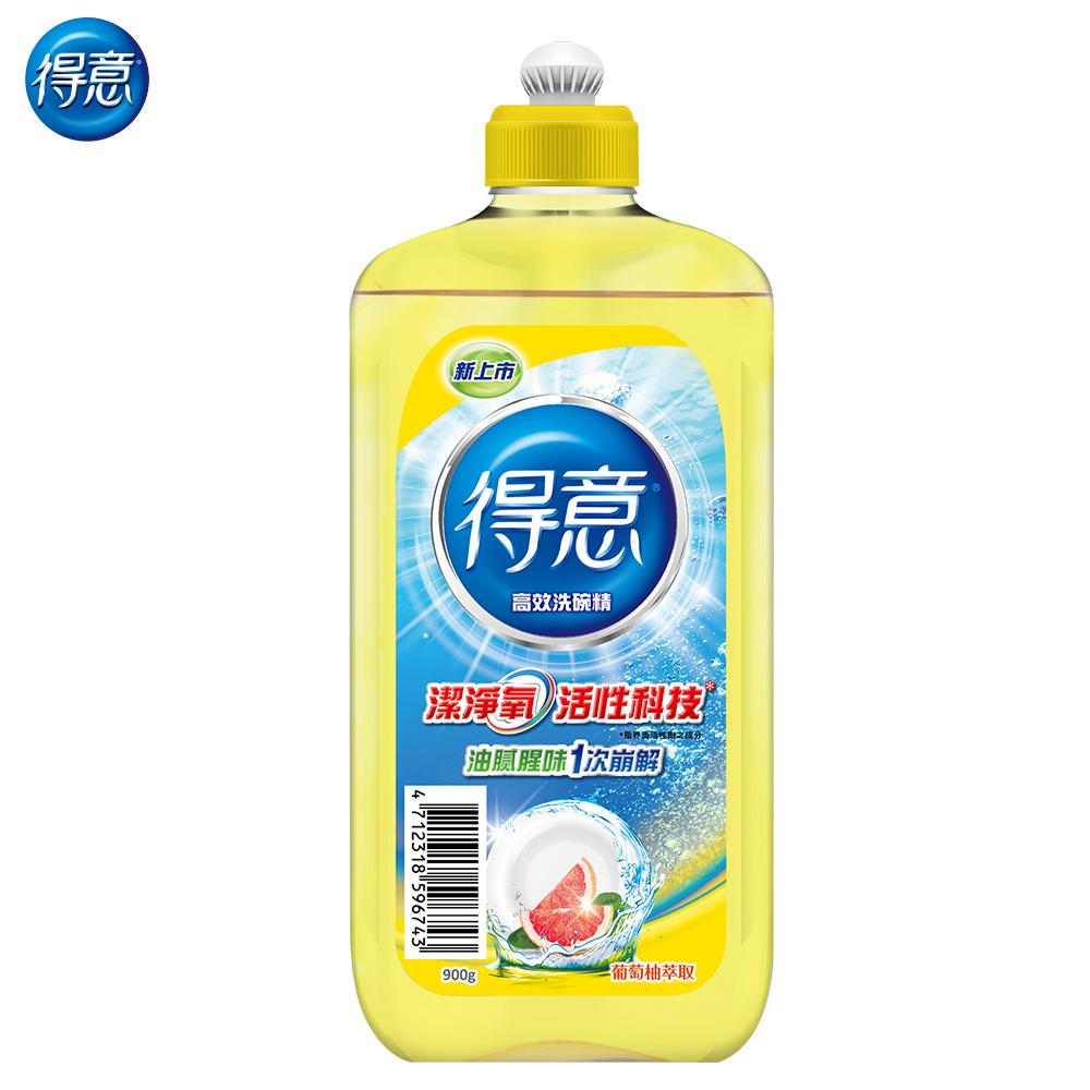 得意家用清潔類洗碗精正常瓶900g/瓶