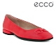 ECCO ANINE SQUARED 時尚方頭平底鞋 女鞋 木槿红 product thumbnail 1