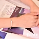 富山香堂 時尚脫單擋煞限定組_LOVE 檀戀 _恆星銀飾檀木珠手鍊 product thumbnail 1