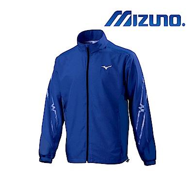 MIZUNO 美津濃 男平織運動外套 藏藍x藏藍 32TC908515
