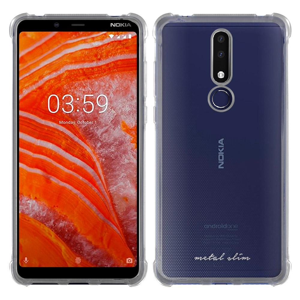 Metal-Slim Nokia 3.1 Plus 防摔抗震空壓手機殼