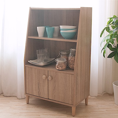 《HOPMA》DIY巧收簡約三層二門收納櫃