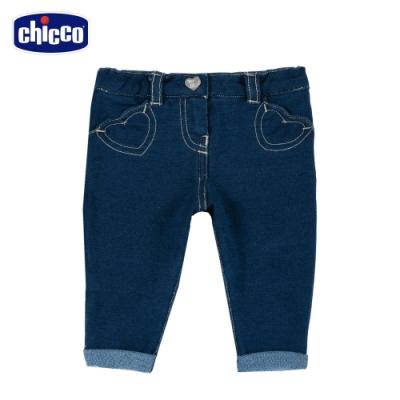 chicco-To Be BG-愛心針織牛仔長褲