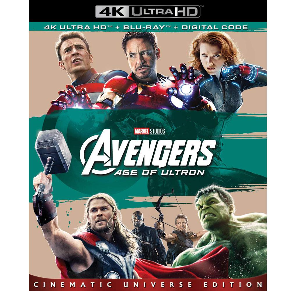 復仇者聯盟2:奧創紀元 UHD+BD 雙碟限定版  藍光 BD