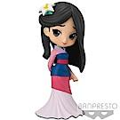 Banpresto 迪士尼Q Posket 花木蘭公主/粉色14cm BD35727