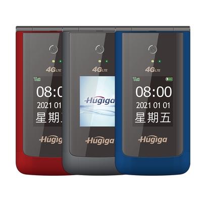 HUGIGA A8 4G LTE 經典歐風美型翻蓋機 長輩機 老人機