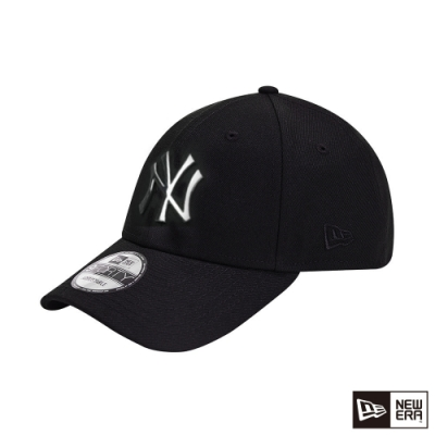 NEW ERA 9FORTY 940 金屬LOGO 洋基 黑/銀 棒球帽
