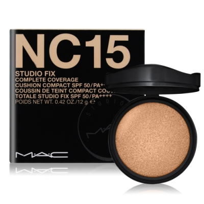 M.A.C 超持妝全能氣墊粉餅(補充粉蕊) SPF50/PA++++12g#NC15