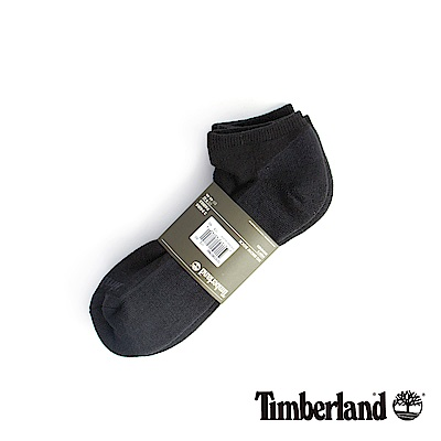 Timberland 男款黑色透氣吸汗舒適隱形襪