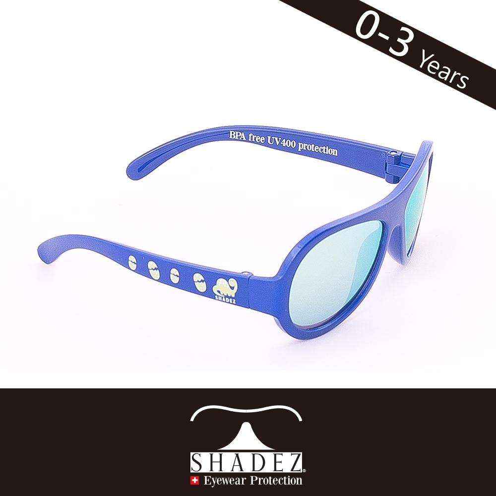 瑞士SHADEZ 兒童太陽眼鏡SHZ-19(年齡0-3)--藍色恐龍