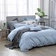 澳洲Simple Living 雙人天絲福爾摩沙被套床包組-台灣製(天清藍) product thumbnail 1