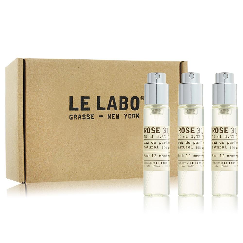 *Le Labo 玫瑰31 Rose 淡香精旅行組10mlX3-香水航空版