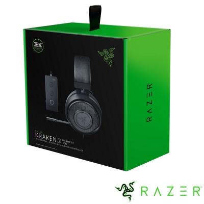 Razer Kraken TE 北海巨妖競技版 電競耳機(黑)