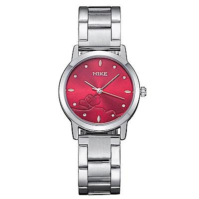 Mirabelle 紅線情緣 點鑽不鏽鋼女錶 紅面27mm