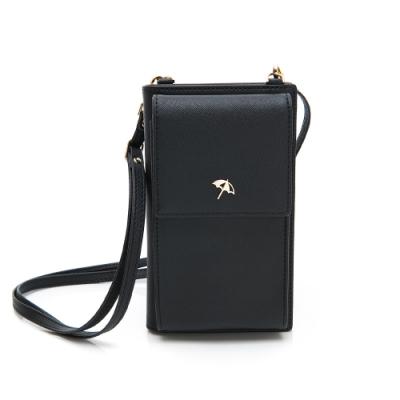 Arnold Palmer- 中夾附長背帶 SIMPLE系列-黑色