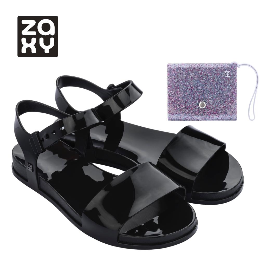 Zaxy TRENDY + WALLET FEM系列涼鞋-黑