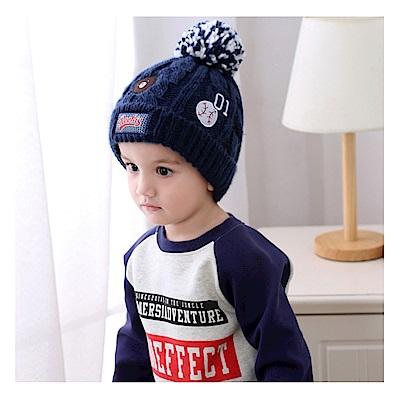 (kidwowo)歐美棒球01號保暖童帽