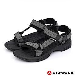AIRWALK - Y字兩用休閒涼鞋-黑色