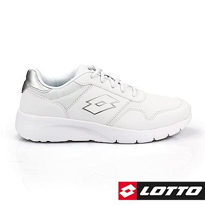 LOTTO 義大利 男 極致輕量跑鞋 (白)