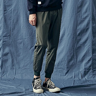 CACO-加厚素款哈倫褲(兩色)-男【QNA118】