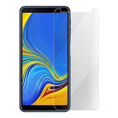 Metal-Slim Samsung Galaxy A7 2018 9H鋼化玻璃保護貼