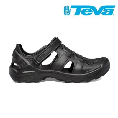 TEVA Omnium Drift 多功能運動涼鞋 中童 黑色 TV1110229CBLK