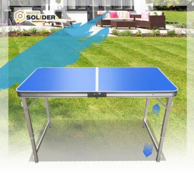 【MS】輕量級鋁合金可伸縮戶外摺疊桌(高度三段可調)