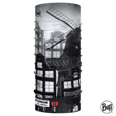 【西班牙BUFF】經典頭巾 Plus-城市系列-阿姆斯特丹