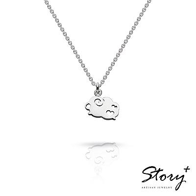 STORY故事銀飾-祈福項鍊 卡片銀飾綿羊款