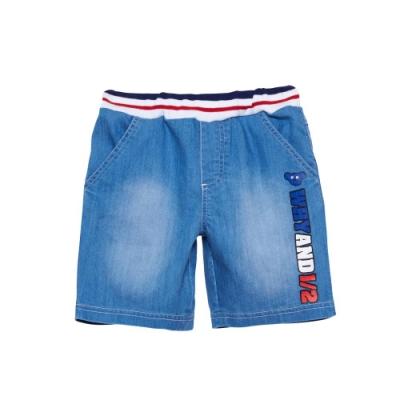 WHY AND 1/2 普普熊牛仔短褲 5Y~10Y