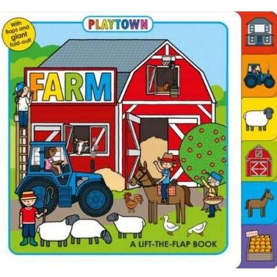 Playtown:Farm 開心農場硬頁翻翻操作書(英國版)
