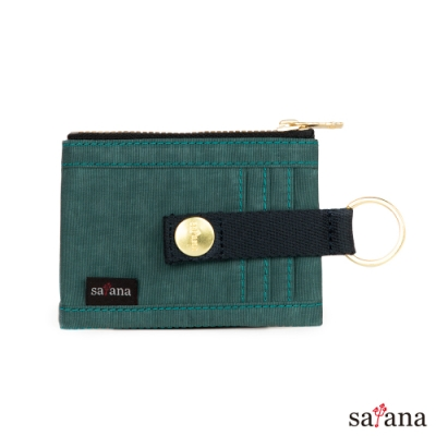 satana - Soldier 繽紛卡片夾/零錢包 - 冬青色