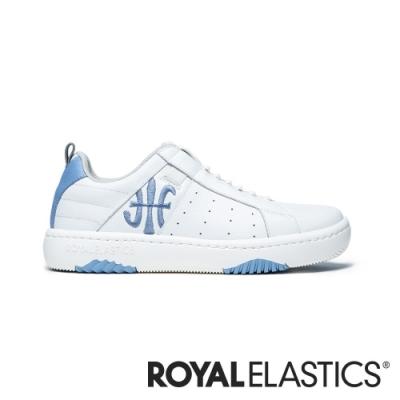 ROYAL ELASTICS ICON2.0 藍白真皮潮流運動休閒鞋 (女) 96511-005