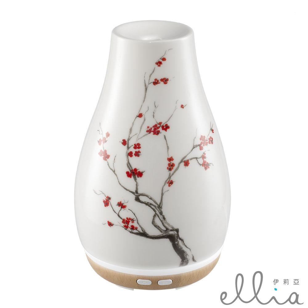美國 ELLIA 伊莉亞 典雅陶瓷香氛水氧機 ARM-510 (綻放)