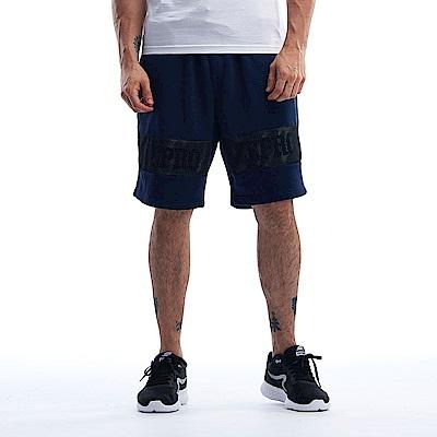 【ZEPRO】男子街頭潮流休閒短褲-深海藍