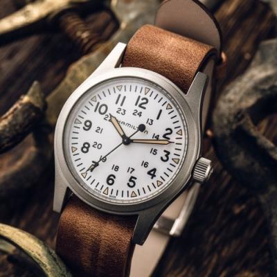 Hamilton KHAKI FIELD卡其野戰機械錶-38mm (H69439511)