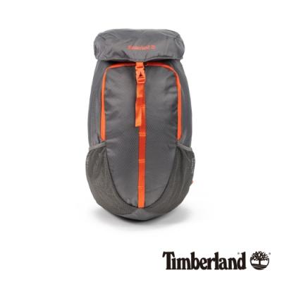 Timberland 中性鐵灰撞色休閒雙肩後背包|A2FNR