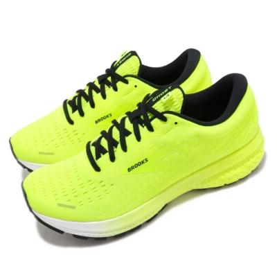 Brooks 慢跑鞋Ghost 13 Splash Pack 男鞋 路跑 緩震 DNA科技 透氣 健身 球鞋 黃 黑 1103481D774