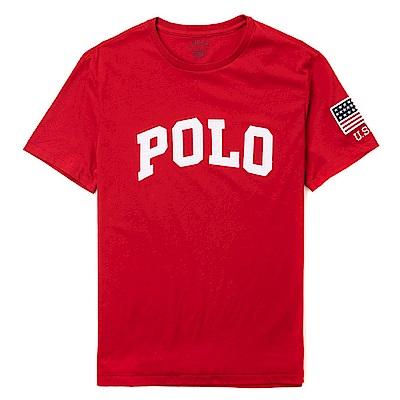 Polo Rlaph Lauren 經典Logo設計短袖T恤-紅色